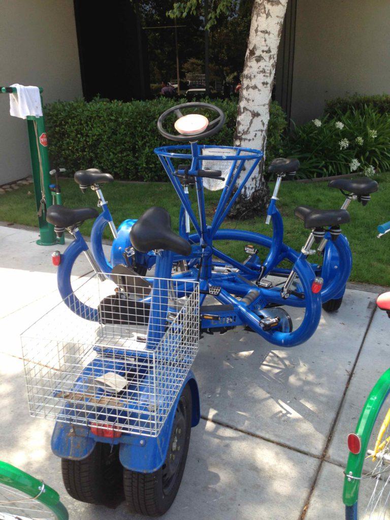 Bicicletta per riunioni Google